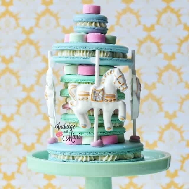 Macaron Carousel in collaboration with mysilpat Happy to unveil thishellip