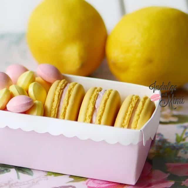 Its Spring so time to bring back Lemon Lavender Macaronshellip
