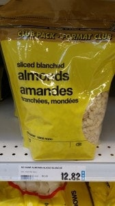 superstore vancouver slivered almonds