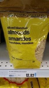 superstore vancouver slivered almonds