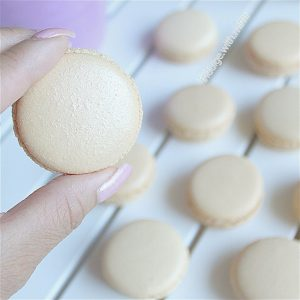 How to Make Gold Macarons
