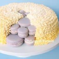 Macaron Surprise! Cake