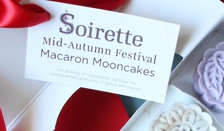 soirette macaron mooncake
