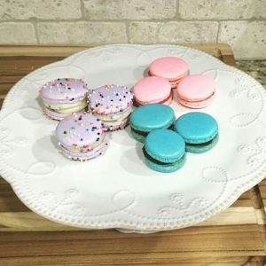I finally conquered macarons! Third try and we finally got perfect feet on EVERY shell, no cracks, and beautifully smooth tops thanks to the recipe from indulgewithmimi.