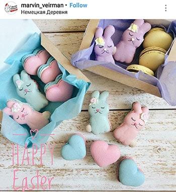 easter-bunny-macarons