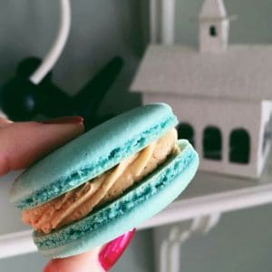 """I used Indulge With Mimi's macaron recipe again with lovely results! "" IG: @Montezoolandes"