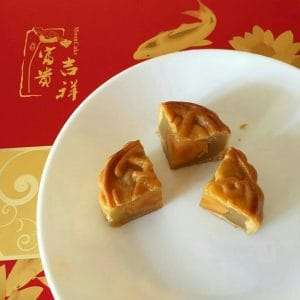 Traditional Moon Cake with Yolk filling. Photo courtesy of my friend Jo @whiterosesandcoffee
