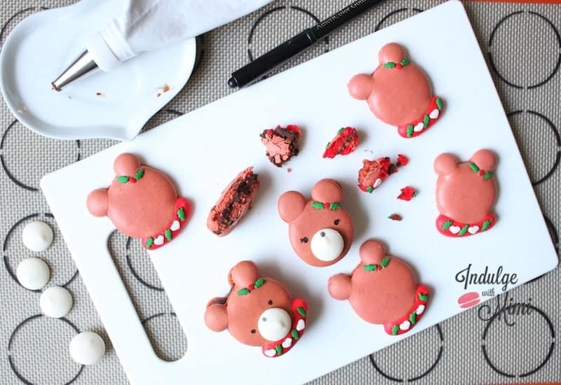 macarons-bear-shaped