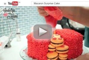Macaron Surprise Video Tutorial