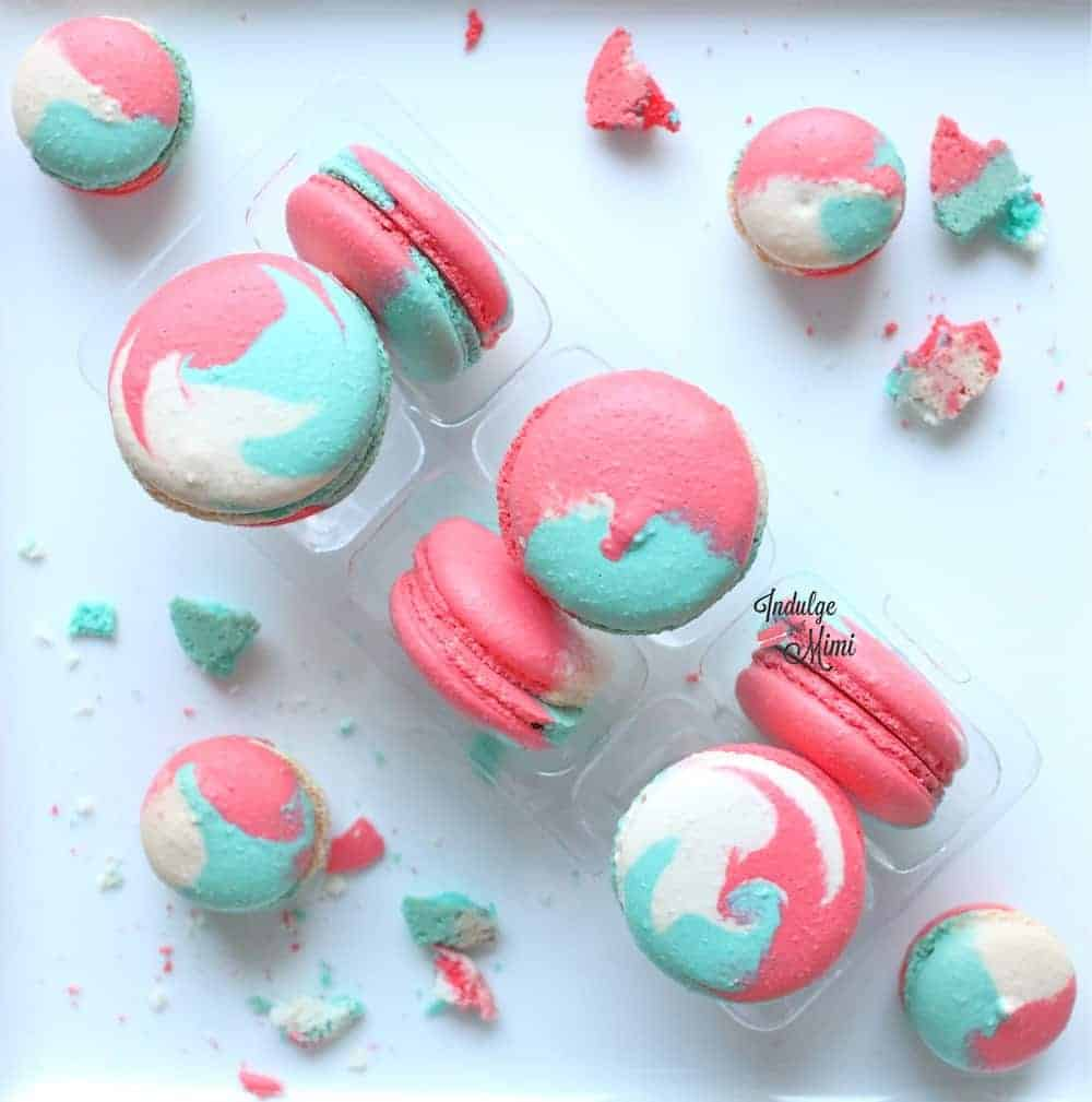 Multi Color Macarons Video Tutorial Amp Christmas Party