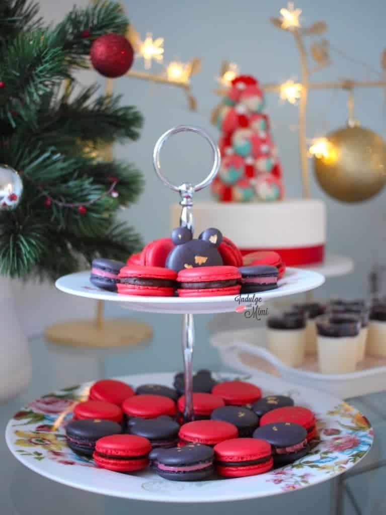 christmas-party-macaron-ideas