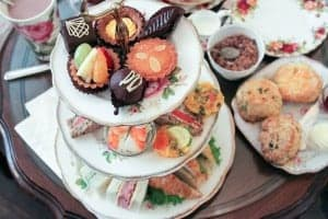 Afternoon Tea at Adonia Tea House in Kerrisdale