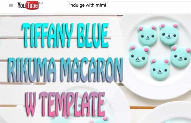 tiffany-blue-rikuma-bear-macarons