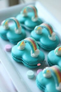 Over the Rainbow Cloud Macarons & My Home