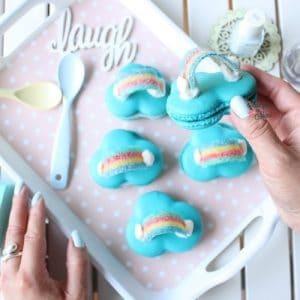 blue-cloud-macarons