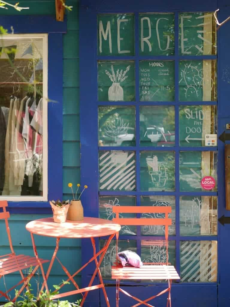 Artisan collective gift shop.