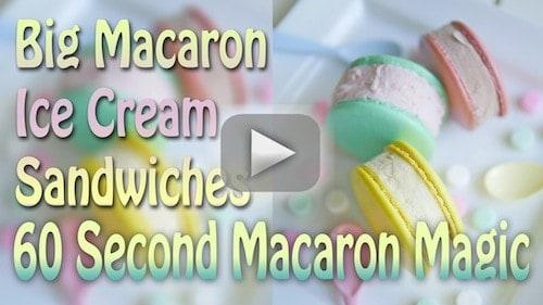 ice cream macaron tutorial 2
