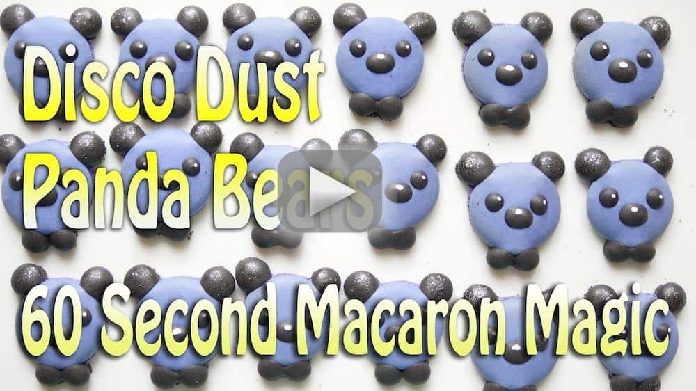 how-to-use-disco-dust-on-macarons