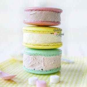 Big Macaron Ice Cream Sandwich Recipe