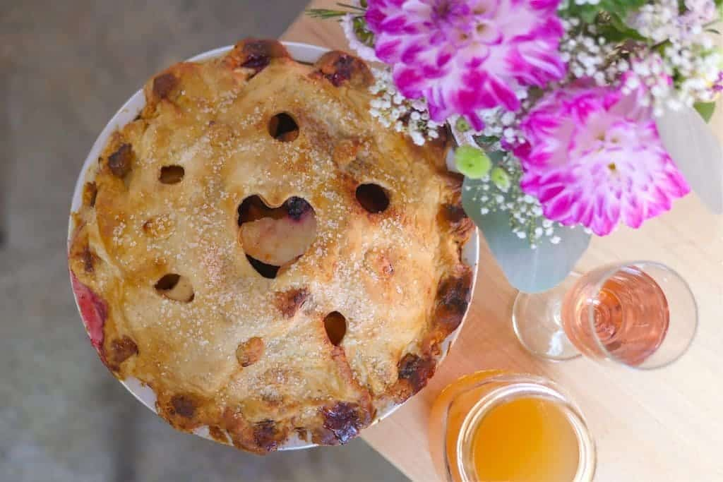 Delicious Pies. My favorite is the apple but they also have interesting flavors like rhubarb, ginger peach and more!
