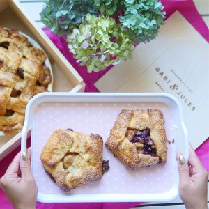 Pinterest Worthy Pie Picnic at Gabi and Jules Grand Opening
