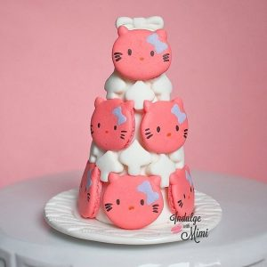Hello Kitty Macaron Tower and My First Lesson on Individuality (w/ Kitty Template)