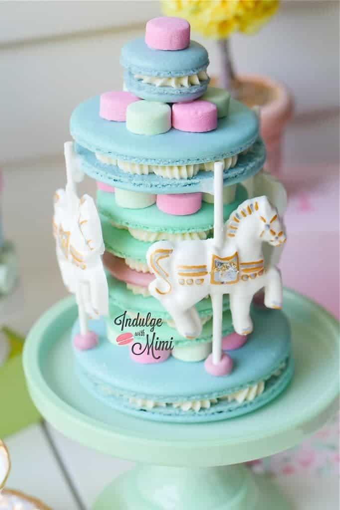 macaron-cake