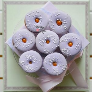 Salted Caramel Recipe & Donut Macaron Template