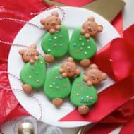 On the Radio & This Year's Christmas Bear Macarons