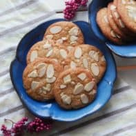 Chinese-Canadian New Years Almond Cookies