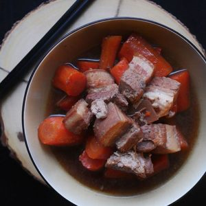 Slow Cooker Pork Belly (Chinese Style)