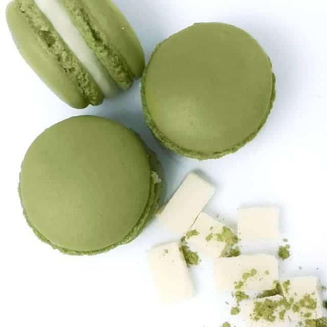 Matcha Macarons with Green Tea INFUSED shells is one ofhellip