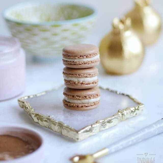 Gingerbread macarons styled with everything good from anthrovancouver working onhellip