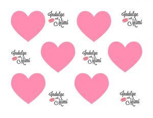 heart template medium
