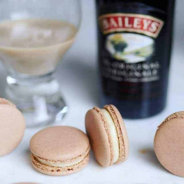 The second boozy macaron recipe I made with baileysofficial ahellip