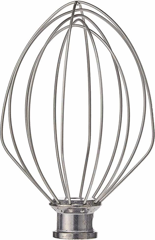 KitchenAid K5AWW Replacement Wire Whip for 5 Quart Lift Machines