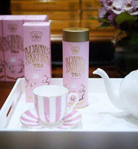 Sakura Tea Tasting at TWG
