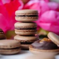 Scrumptious Salted Caramel Chocolate Macaron Recipe on the Radio