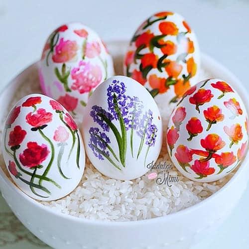 Gorgeous Last Minute Easter Eggs