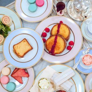 Afternoon Tea at Laduree Vancouver