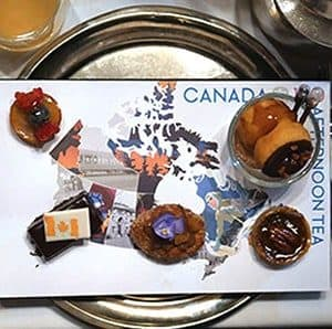 Canada 150 Celebration Tea at Fairmont Afternoon Tea