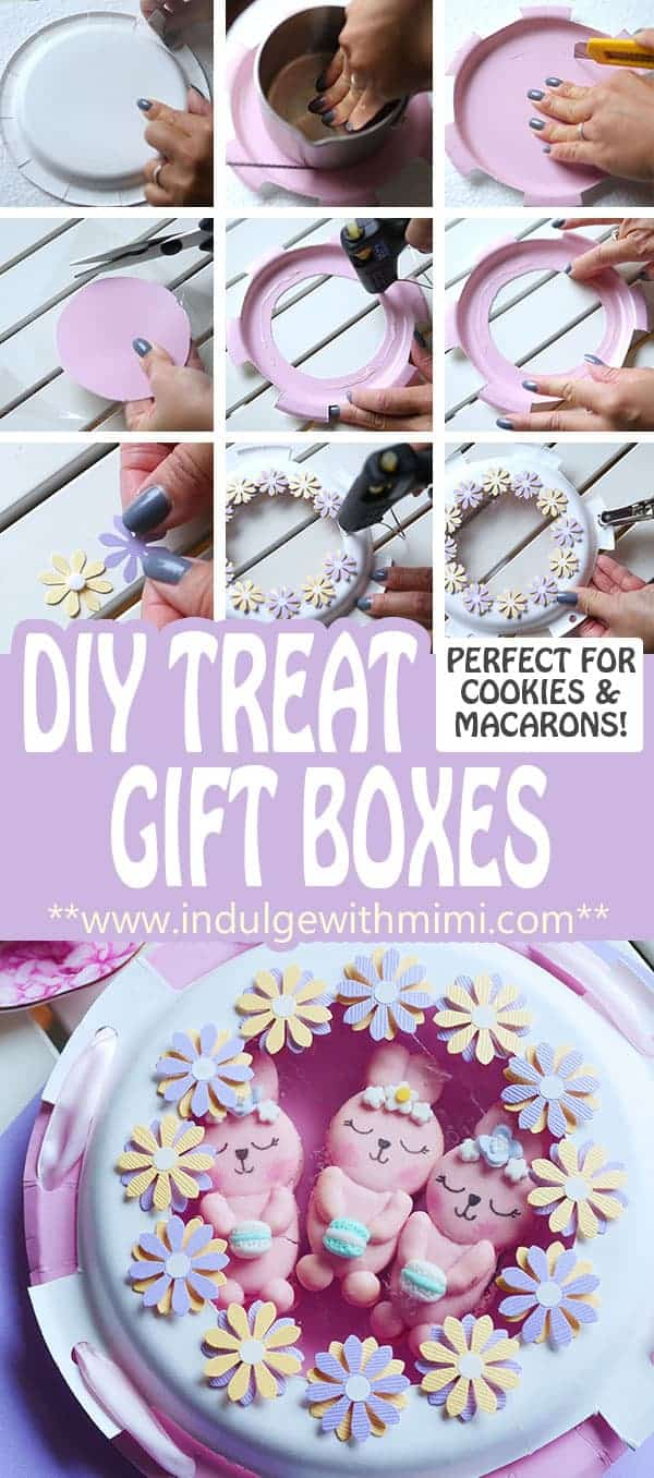 How to Make a Cute Macaron Box for Your Character Macarons (Template)