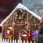 Gingerbread House Lane at the Hyatt Hotel Vancouver