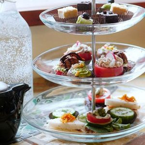 Vegan Gluten-Free Afternoon Tea at Indigo Age Cafe in Downtown Vancouver