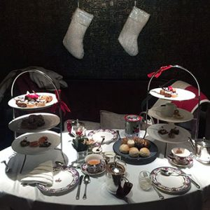 Christmas Themed Afternoon Tea at Notch8 in Fairmont Hotel Vancouver