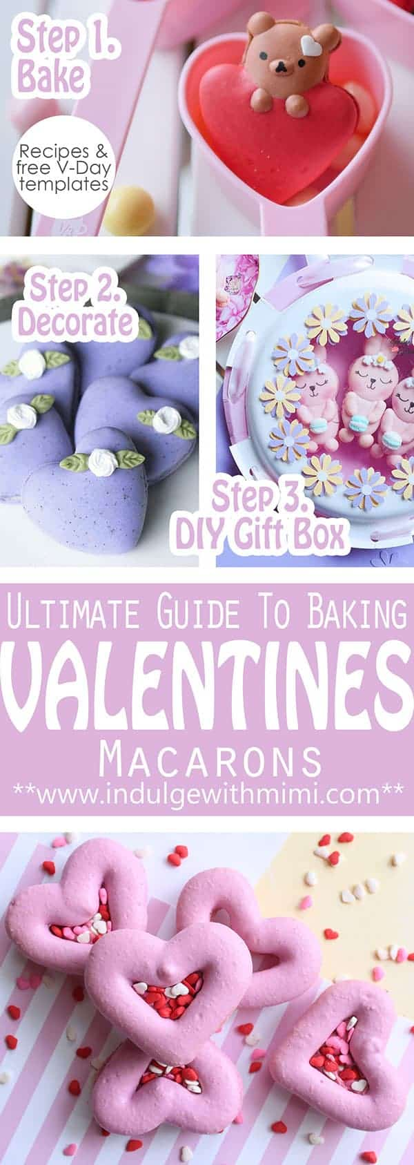 Valentine\'s Day Macaron Projects & Templates