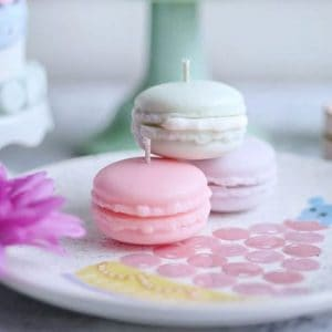 Macaron Candle Making Class at Soigne Atelier in East Vancouver