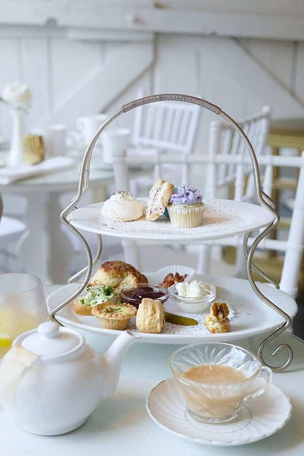 Afternoon Tea At The Little White House In Fort Langley
