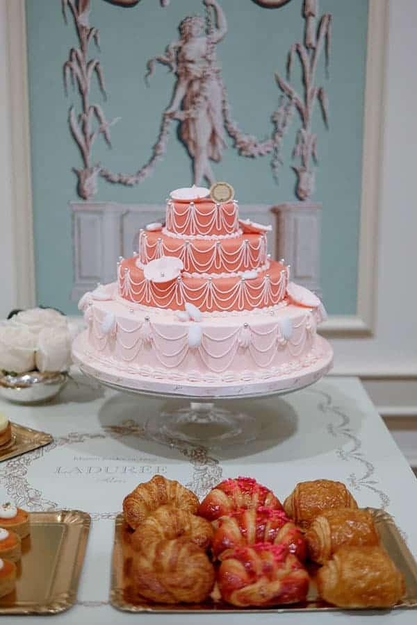 Laduree Marie Antoinette cake.