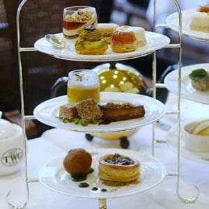 The New Harvest Afternoon Tea Set at TWG Tea in Vancouver